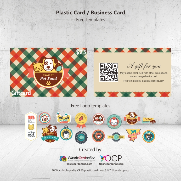 pet shop gift card