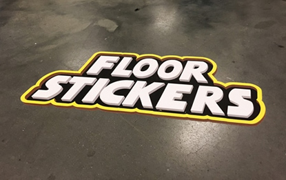 Custom Floor Stickers, Floor Decals