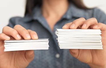 Ultra thick business card colourmoves