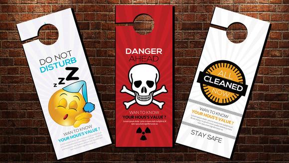 Design Door Hangers Online Delectable Plastic Card Printing Online Review