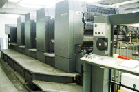 Heidelberg 4 colors offset printer