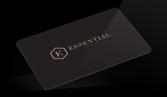 Black loyalty cards