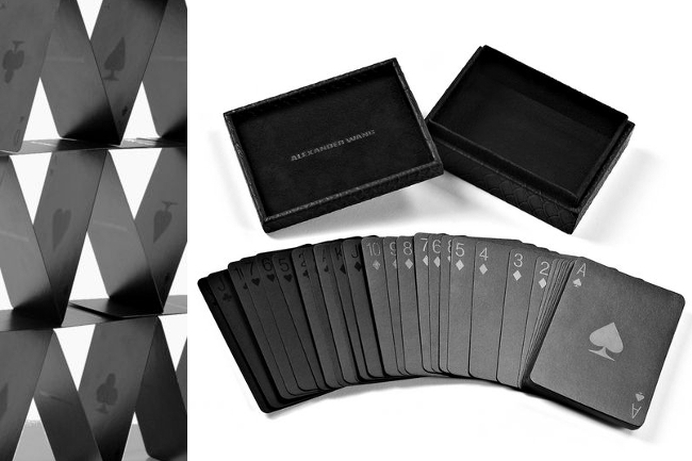 Blak playing cards