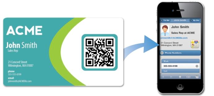 Qr code card qrcodebusinesscardg colourmoves
