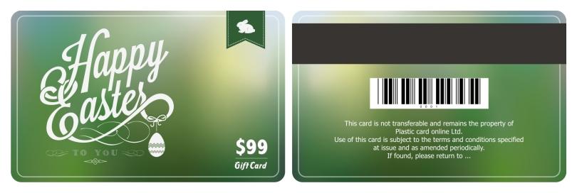 Free ready made plastic card template – Membership Card Template