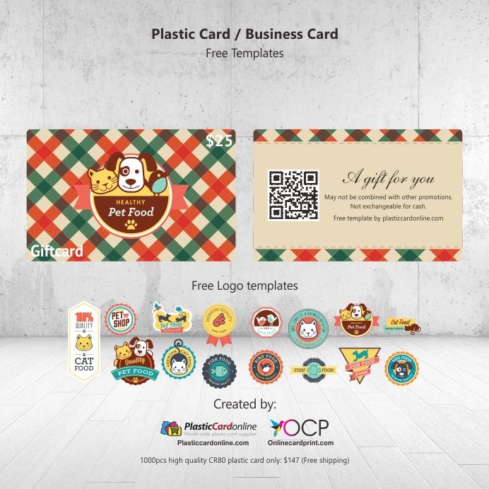 pet shop gift card