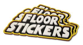 Custom floor stickers