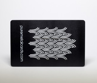 Matt Black Cards
