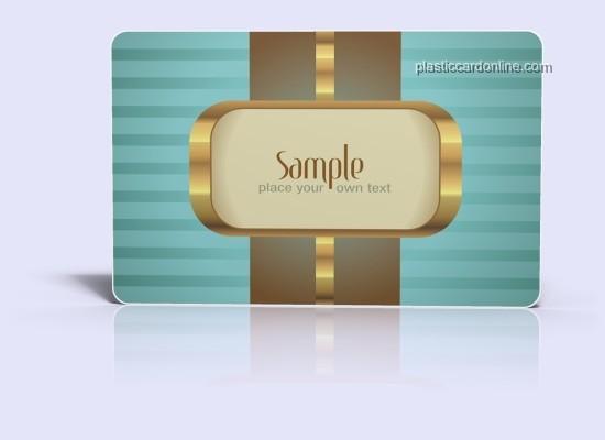 plastic card templates